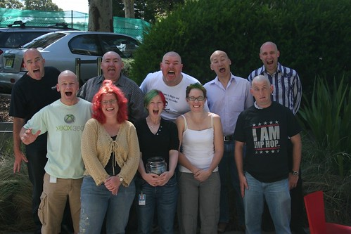 All the baldies at Microsoft