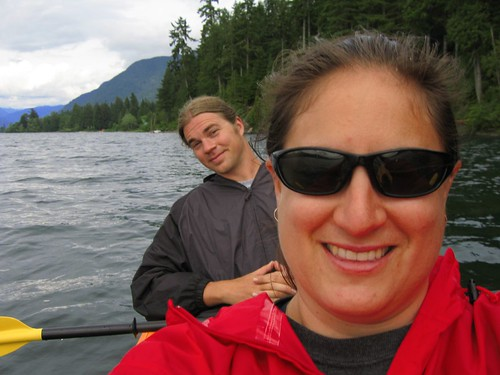 Michelle and Ed on Lake Quinault