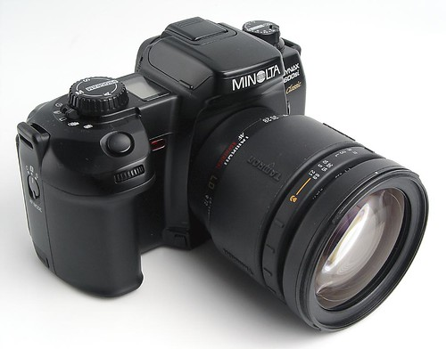 cameras;: Minolta Dynax 600si Classic; - from the other Martin Taylor
