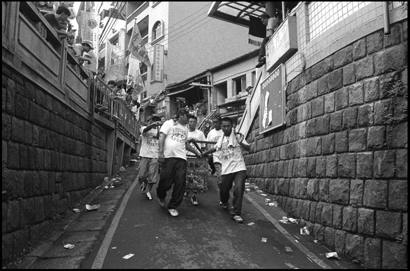 The Chingsui Deity Parade in Tamsui    淡水清水祖師爺繞境2005/06