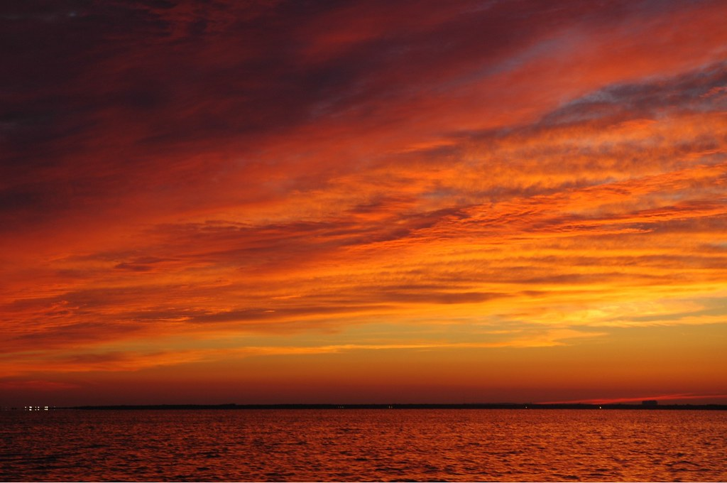 Sunset, Great South Bay