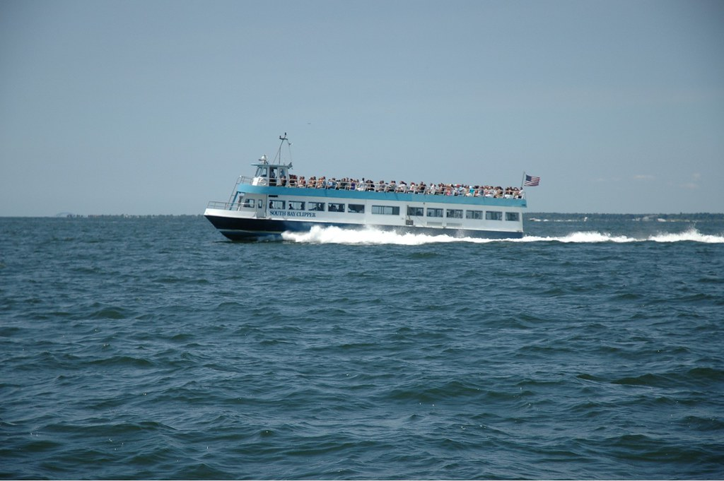 Ferry to Fire Island, July 4th