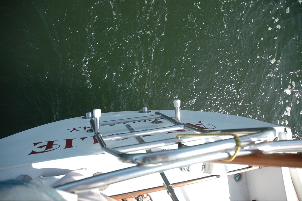 stern of sailboat
