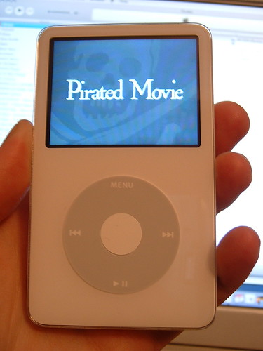 Pirated Movie on iPod