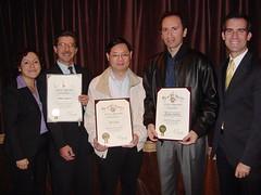 Bob Camou, Ed Chow, and Nadim Bakhos