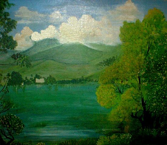 kerala painting landscape