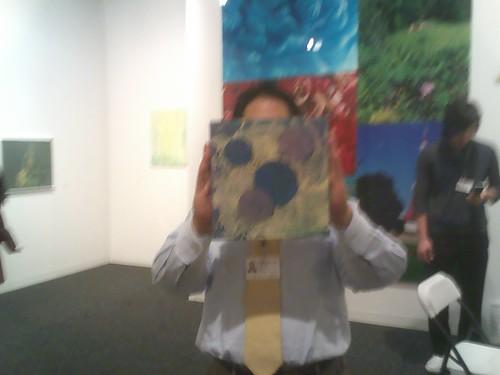 Mr. Koyama of Koyama Gallery, Art Basel, Miami