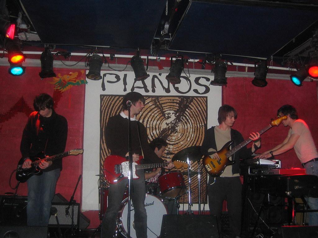 A Brief Smile @ Pianos