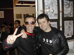 Gran foto: con Alejandro Tejeria