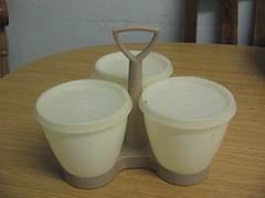 Tupperware - gweinydd piclau