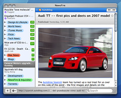 NewsFire 1.3 screenshot