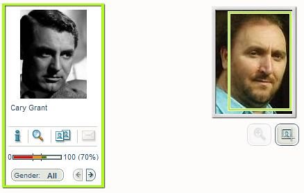 David N Wallace looks like Cary Grant according to myheritage.com