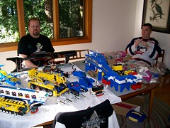 Bay Area LEGO Users' Group Meeting at Dave Porter's house on Jan. 22, 2006