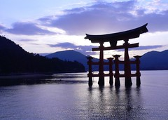Sunset on Miyajima 3