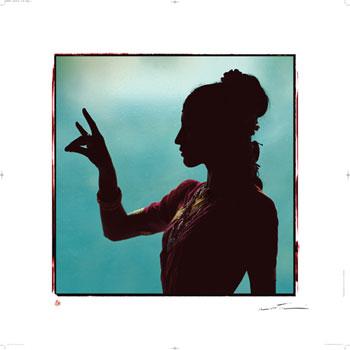 Shantl Danseuse De Kerala by Olivier Folmi
