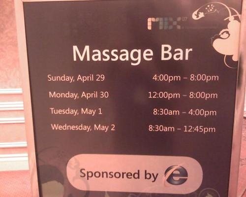 Massage 2.0
