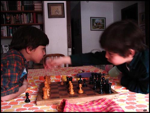 A jogar xadrez (by You)