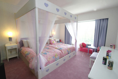 Decoracion de cuartos de princesas disney modern world for Muebles disney