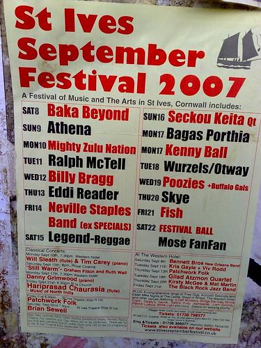 St Ives September Festival taken on Nokia N95