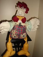 Galo, o dono do galinheiro photo by dri.arruda