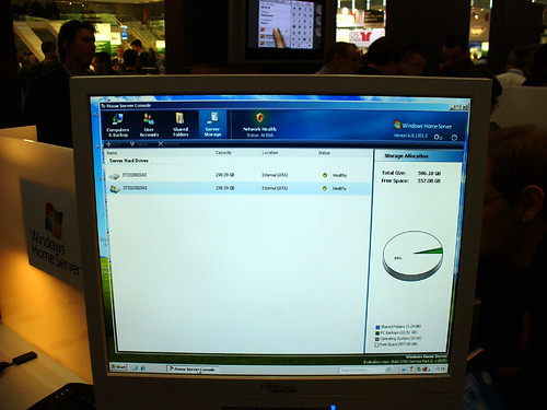 CeBIT 2007 - Microsoft