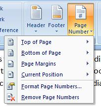 page numbers