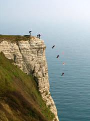 Base jump photo by Roo Reynolds