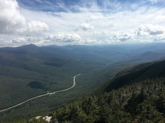 9/18/18 Perfect Fall weather in Franconia Notch today