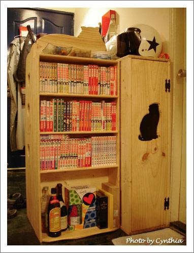 小綠櫃、BIRU櫃、小書櫃