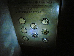 Stuck in a lift