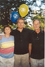 Me, Mom and Dad on my Birthday