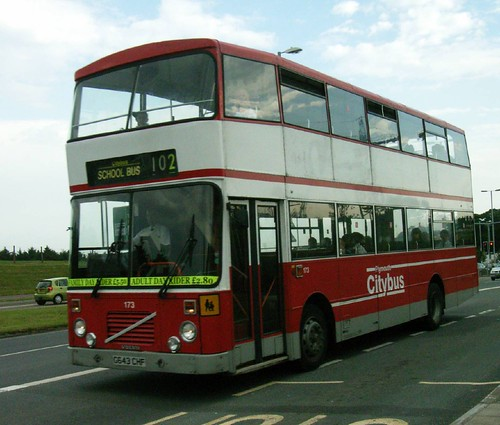 173 G643CHF Plymouth Citybus.