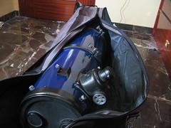 mochila telescopio