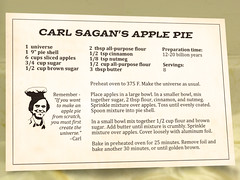 Carl Sagan's Apple Pie