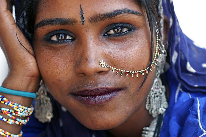 Kamala - Pushkar, India photo by Maciej Dakowicz