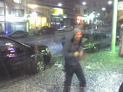 Hailstorm in San Francisco