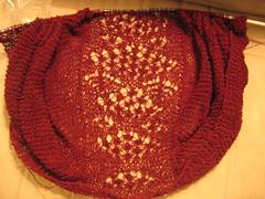 Cashmere faroese shawl