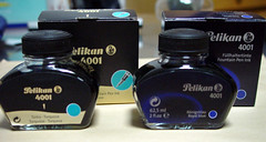Pelikan bottles (old-new)