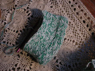 Slip-stitch purse
