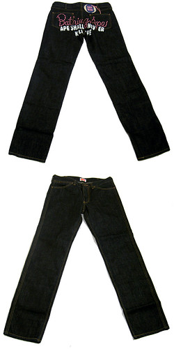 APEE-BackLogo-Denim-NonWash