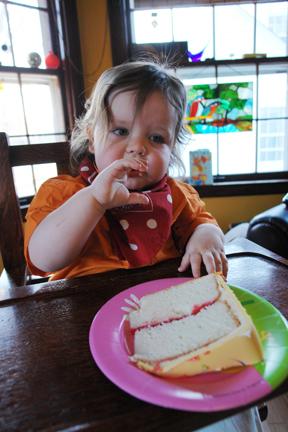Pensive Cake Boy