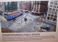 Underperforming public spaces (Exhibit panel, Living Streets Exhibit, NYC)