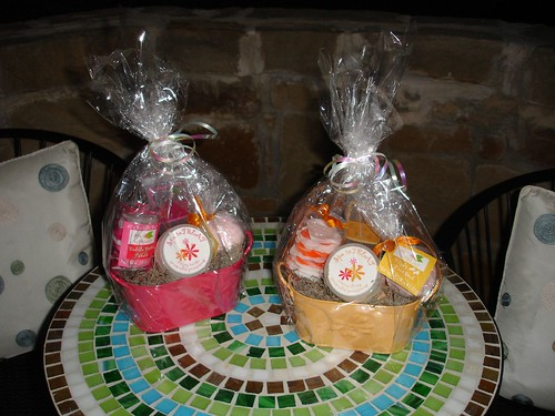 Gift Baskets on the Verandah