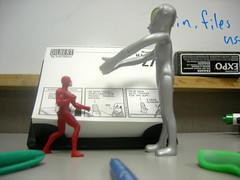 Daredevil faces off against Grey Alien