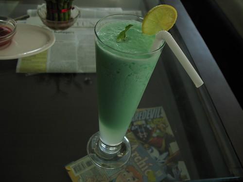 Nice mint based drink.