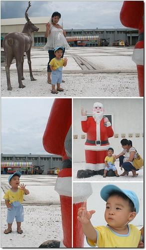 聖誕老公公,嗨~