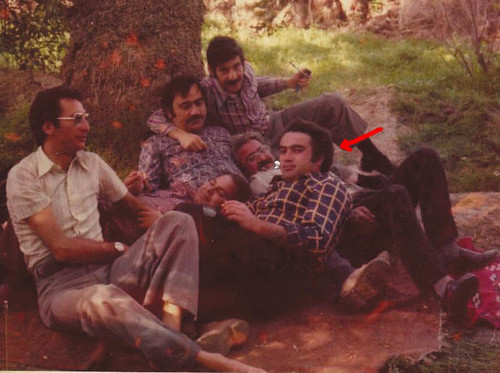 Bassam Al-Bir, with Aboodi, Raja, Munthir and Imad