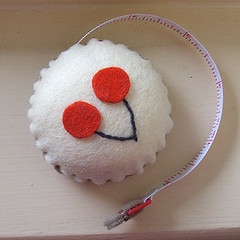 first cupcake tape measure attempt