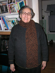 Maria, scarf for Mom