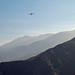 Biplane Over San Jacinto Range